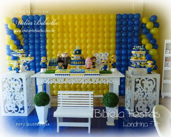 decoracao festa minions : decoracao festa minions:Locação de Decoração Provençal para Festa em Londrina