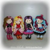 EVER AFTER HIGH 25CM KIT COM 4 PERSONAGENS