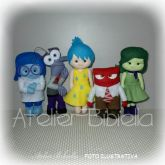 DIVERTIDAMENTE KIT 5 PERSONAGENS BASE JOY 30CM